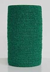 PetFlex kohäsive Bandage grün 5cm 1 Stk