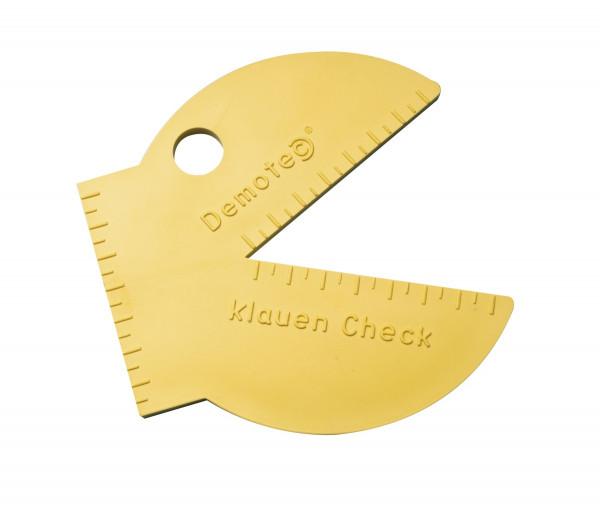 Demotec Klauen-Check-Schablone 1 Stück