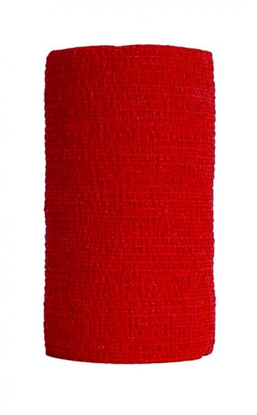 PetFlex 7,5 cm rot kohäsive Bandage 1 Stück