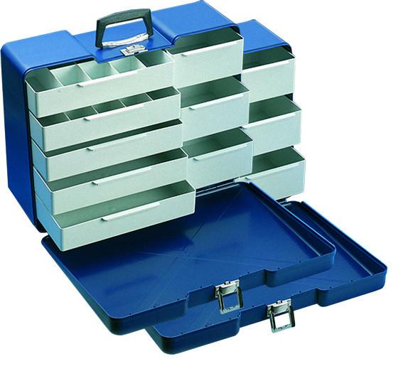 Kunststoffkoffer blau - Poly-Butler 1 Stück
