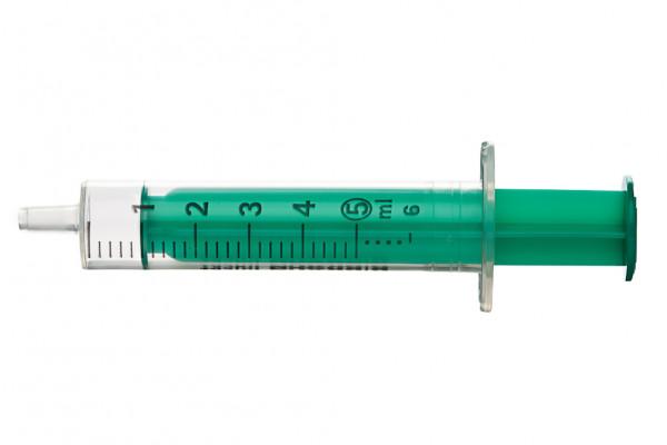Braun Inj Spritzen 5ml-grüner Stem 100