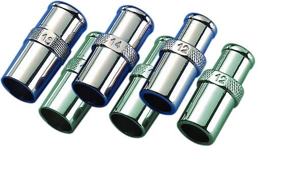 Metallkonnektor 16,0 mm für Trachealtubu 1 Stück