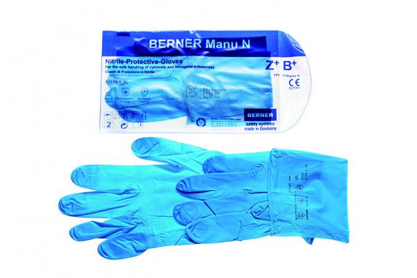 Nitril-Schutzhandschuhe Manu N S 100 Stück