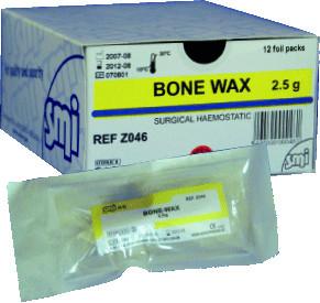 Knochenwachs 2,5 g, einzeln steril verpackt
