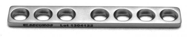 DCP-Platte mit Steg D 2.7mm, 7 Loch 1 Stück