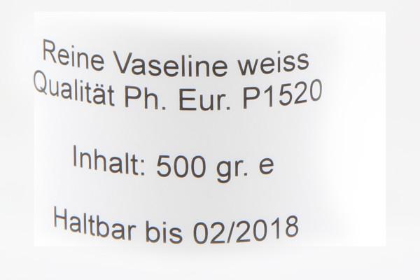 Vaseline 500gr Dose (1 Stk)