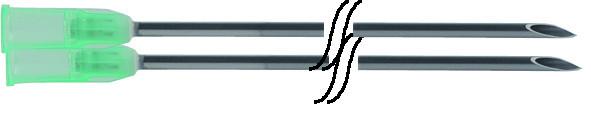 Einmalkanülen Supra 2,0 x 100 mm 100 Stück
