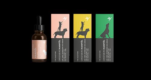 GREENBIRD CBD Öl 10 % für Haustiere Fl 1 0 ml