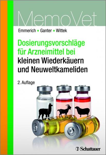 MemoVet Dosierungsvorschläge für Arzneimittel bei kleinen Wiederkäuern und Neuweltkameliden