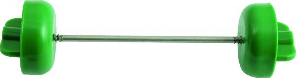 Scheidenverschluss grün, 65mm 12 Stück