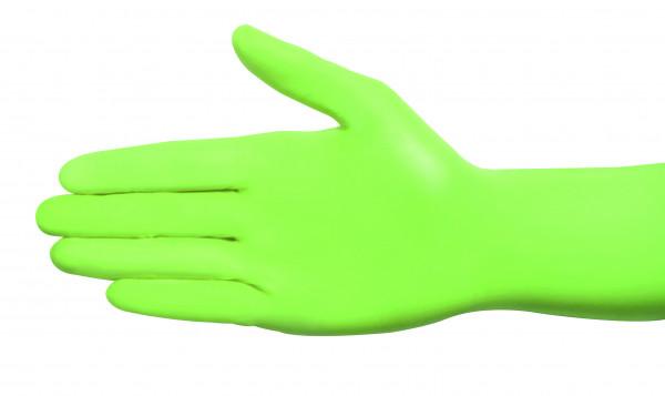 Nitril US-Handschuhe Apfelgrün S 100 Stück
